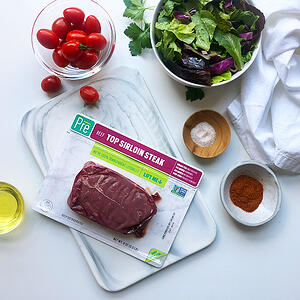 Top Sirloin with Ingredients